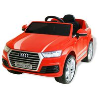 vidaXL Elektrické dětské auto Audi Q7 červené 6 V