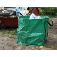 Nature Vak na zahradní odpad čtvercový zelený 148 l