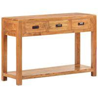 vidaXL Konzolový stolek 110x40x76 cm masivní akácie sheeshamový povrch