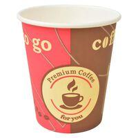 vidaXL Jednorázové kelímky na kávu 1000 ks 240 ml