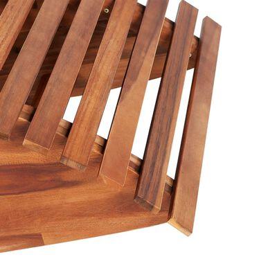 vidaXL Houpací opalovací lehátko akáciové dřevo