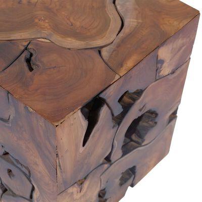 vidaXL Stoličky / konferenční stolek masivní teak