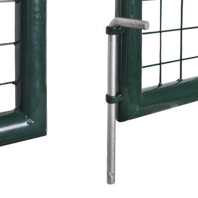 Zahradní plotová brána 289 x 75 cm / 306 x 125 cm pletivo