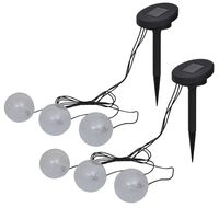 vidaXL Plovoucí lampy 6 ks LED pro jezírko a bazén