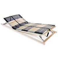 vidaXL Lamelový rošt postele se 42 lamelami 7 zón 80 x 200 cm