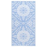 vidaXL Venkovní koberec bledě modrý 80 x 150 cm PP