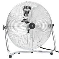 vidaXL Podlahový ventilátor 3 rychlosti 60 cm 120 W chrom