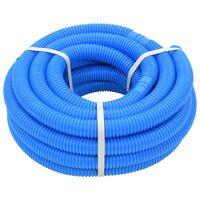 vidaXL Bazénová hadice modrá 38 mm 12 m