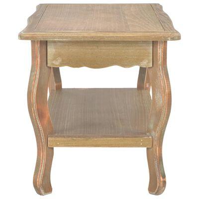 vidaXL Konferenční stolek 87,5 x 42 x 44 cm masivní borovicové dřevo