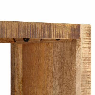 vidaXL Police na knihy 80 x 25 x 175 cm masivní mangovníkové dřevo