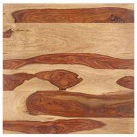 vidaXL Stolní deska masivní sheeshamové dřevo 15–16 mm 60 x 60 cm