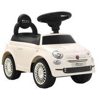 vidaXL Dětské autíčko Fiat 500 bílé