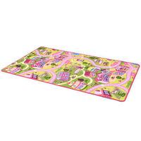 vidaXL Hrací koberec, smyčkový vlas 170 x 200 cm vzor Sladké městečko