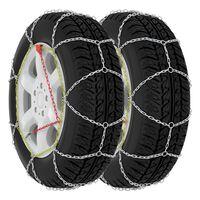 vidaXL Sněhové řetězy na pneumatiky 2 ks 9 mm KN80