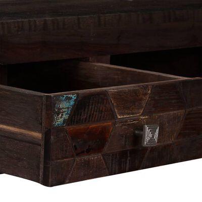 vidaXL Konferenční stolek masivní recyklované dřevo 100 x 60 x 35 cm