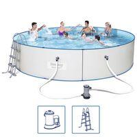 Bestway Set Hydrium bazén s ocelovým rámem kulatý 460 x 90 cm 56386