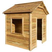vidaXL Zahradní domeček pro děti z borového dřeva 123 x 120 x 146 cm