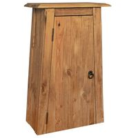 vidaXL Koupelnová nástěnná skříňka recyklované borové dřevo 42x23x70