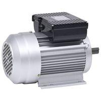 vidaXL 1fázový elektromotor hliník 1,5 kW/2 HP 2 póly 2800 ot./min