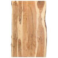 vidaXL Stolní deska masivní akáciové dřevo 100 x (50–60) x 3,8 cm