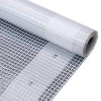 vidaXL Krycí plachta bílá 1,5 x 20 m 260 g/m²