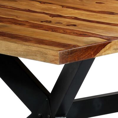 vidaXL Jídelní stůl 200 x 100 x 75 cm masivní sheeshamové dřevo