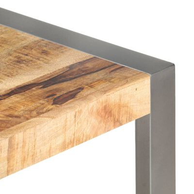 vidaXL Konferenční stolek 110x60x40 cm dřevo s sheeshamovým povrchem