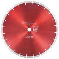 vidaXL Diamantový řezací kotouč ocel 350 mm