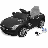vidaXL Elektrické dětské auto Mercedes Benz SLS AMG černé 6 V