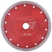 vidaXL Diamantový řezací kotouč s otvory ocel 230 mm