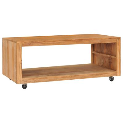 vidaXL Konferenční stolek 110 x 60 x 40 cm masivní teakové dřevo