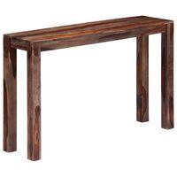 vidaXL Konzolový stolek šedý 120x30x76 cm masivní sheeshamové dřevo