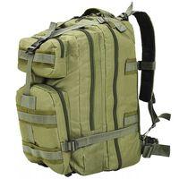 vidaXL Batoh v army stylu, 50 l, olivově zelený