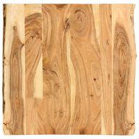 vidaXL Stolní deska masivní akáciové dřevo 60 x (50–60) x 2,5 cm