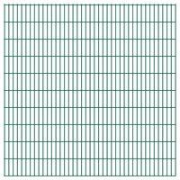 vidaXL 2D zahradní plotový dílec 2,008 x 2,03 mm zelený