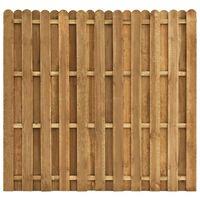 vidaXL Protipohledový plotový dílec borovice 180 x 170 cm