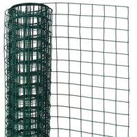 Nature Drátěné pletivo čtvercové 0,5x5m 13 mm poplastovaná ocel zelené