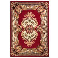 vidaXL Orientální koberec 160 x 230 cm červeno-béžový