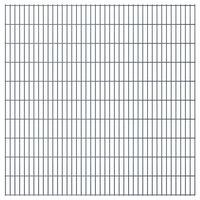vidaXL 2D zahradní plotový dílec 2,008 x 2,03 m šedý