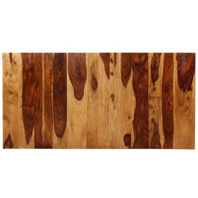 vidaXL Jídelní stůl masivní sheeshamové dřevo a ocel 180 cm