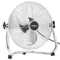vidaXL Podlahový ventilátor 3 rychlosti 40 cm 40 W chrom