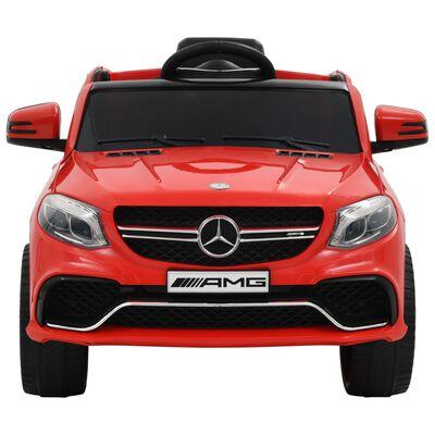 vidaXL Dětské autíčko Mercedes Benz GLE63 plastové červené