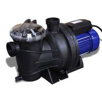 Bazénové čerpadlo elektrické 1200 W modré