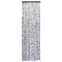 vidaXL Závěs proti hmyzu hnědo-béžový 56 x 200 cm Chenille