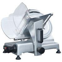vidaXL Profesionální elektrický kráječ na maso 220 mm
