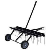 vidaXL Vertikutátor pro zahradní traktor 100 cm