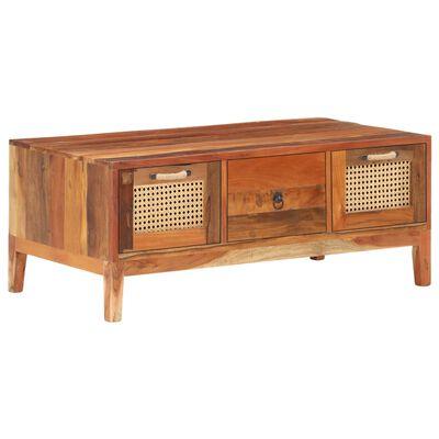 vidaXL Konferenční stolek 100 x 50 x 40 cm masivní recyklované dřevo