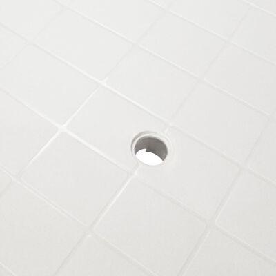 vidaXL Zahradní stůl bílý 101 x 68 x 72 cm plast
