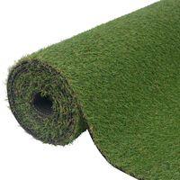 vidaXL Umělá tráva 1 x 8 m / 20 mm zelená