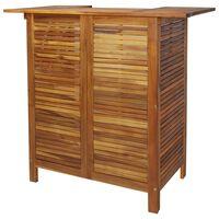 vidaXL Barový stůl 110 x 50 x 105 cm masivní akáciové dřevo